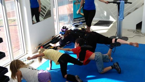Fast & effective fitness solution for busy mums